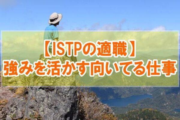 【ISTPの適職12選】特徴と強みからISTP型の向いてる仕事・職業を分析